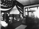 Women's Board of Trade library interior, Washington Avenue, Santa Fe, New Mexico