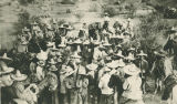 Pancho Villa's troops, northern  Mexico