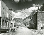 Mining ghost town of Mogollon, New Mexico