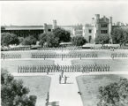 Cadets in formation, New Mexico Military Institute, Roswell, New Mexico