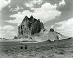 Shiprock in Navajo country, northwestern New Mexico