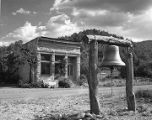 Abandoned building in once prosperous mining town of  Kingston, New Mexico