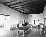 Display room in Palace of the Governors, Santa Fe, New Mexico