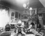 Governor L. Bradford Prince (1889-1893) Room, Palace of the Governors, Santa Fe, New Mexico