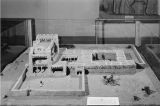 Model of Abo Mission in central New Mexico as it might have looked in the 16th century, site of...