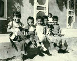 Children in Cordova, New Mexico