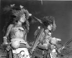 Buffalo Dancers from Jemez Pueblo, Inter-Tribal Indian Ceremonial, Gallup, New Mexico