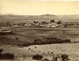 View of San Ildefonso Pueblo, New Mexico