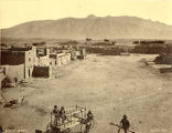View of Sandia Pueblo looking northeast, New Mexico