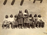 Group of men, Zuni Pueblo, New Mexico