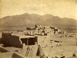 Buildings of Taos Pueblo, New Mexico