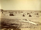 View of Sandia Pueblo, New Mexico