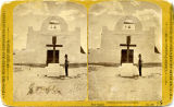 Mission church, San Juan Puebo, New Mexico