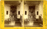 Interior of San Miguel Church, Santa Fe, New Mexico