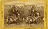 Group of Tesuque Pueblo men, Santa Fe, New Mexico