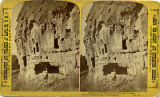 Cliff dwellings in Rito de los Frijoles, New Mexico