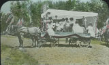 Pioneer Day parade float, Fruitland, New Mexico