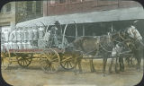 Dairy wagon, Tucumcari, New Mexico