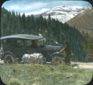 1921 Dodge automobile on Red River Grade, New Mexico