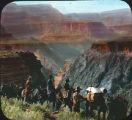 Trailriders in Grand Canyon, Arizona