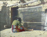 Hopi blanket weaver, Hopi, Arizona