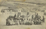 Group at Isleta Pueblo, New Mexico
