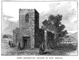 First Protestant church in New Mexico, Santa Fe, New Mexico