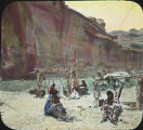 Navajo camp in Canyon de Chelly, Arizona