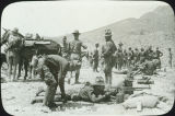 United States Army machine gun practice, Mexican border, Pershing Expedition