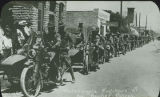 Motorcycle fighters of the Border Patrol, Pershing Expedition, New Mexico