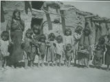 Group of women and children, Santo Domingo Pueblo, New Mexico