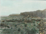 Chettro Kettle at Chaco Canyon, New Mexico
