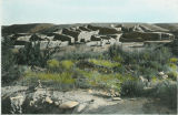 Aztex Ruins from southeast, New Mexico