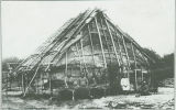 Lodge covered with elm bark, Sauk and Fox