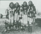 Four Eskimo girls