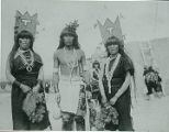 Pueblo Corn dancers, New Mexico