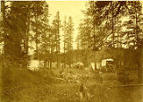 United States Geological Survey camp, Camp Jackson, Wyoming