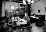 Governor William McDonald (1912-1917) in his State Capitol office, Santa Fe, New Mexico