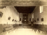 Interior, San Miguel Church, Santa Fe, New Mexico