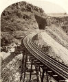 Tunnel in Johnson's Canyon, Atlantic and Pacific Railroad