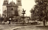 Plaza fountain, Chihuahua, Mexico