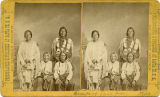 Group of Taos Indians, New Mexico