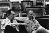 Jurors Vincent Price and Peter Hurd, Southwest Biennial, Museum of Fine Arts, Santa Fe, New Mexico