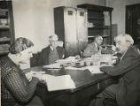 New Mexico Writers Projects, translators at work on Spanish archives, United States Land Office,...