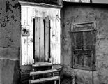 Water mill doorway, La Cueva, New Mexico