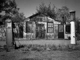 Old gas station between Reserve and Silver City, Buckhorn, New Mexico
