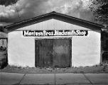 Montoya Brothers Blacksmith Shop, Belen, New Mexico