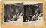 Women grinding corn, New Mexico