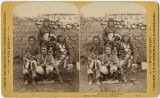 Group of men, Tesuque Pueblo, New Mexico