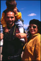 Family at car show, Santa Fe, New Mexico